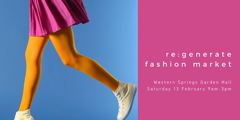Western Springs re:generate Fashion Market