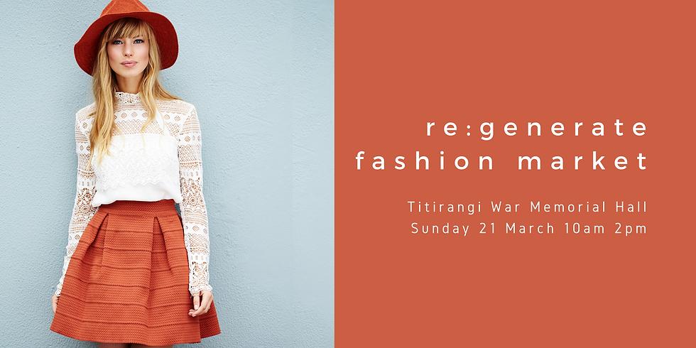 Titirangi re:generate Fashion Market