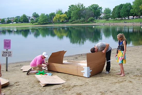 2017 Cardboard Boat Races