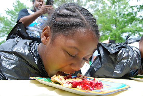 2017 Cherry Pie Eating Contests