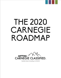 Carnegie 2020 Roadmap