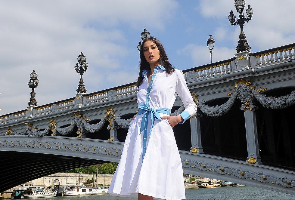 lea white dress