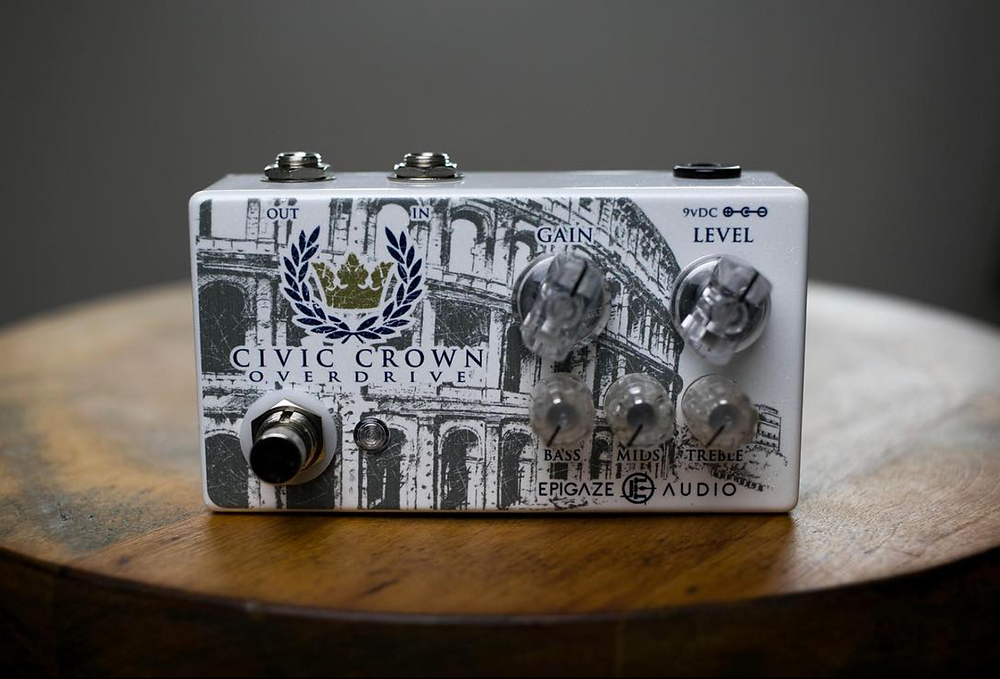 Epigaze Civic Crown Overdrive Pedal