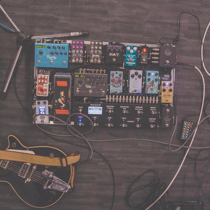 5 Guitar Pedalboards You've Heard In Christian Music