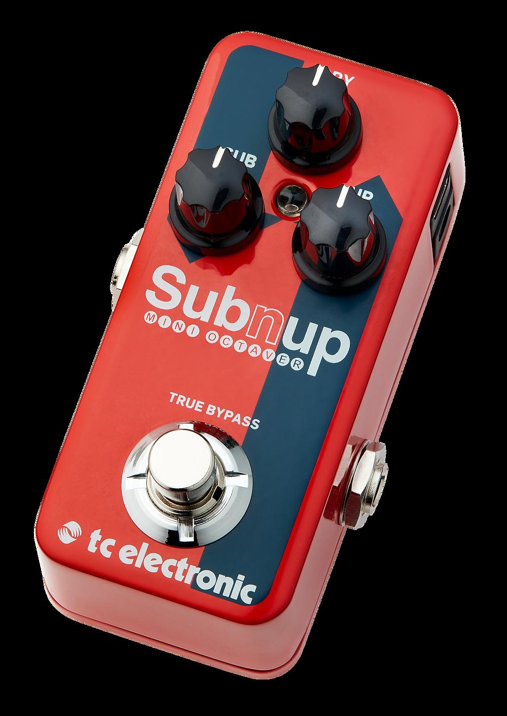 TC Electronic Sub n up mini octave pedal