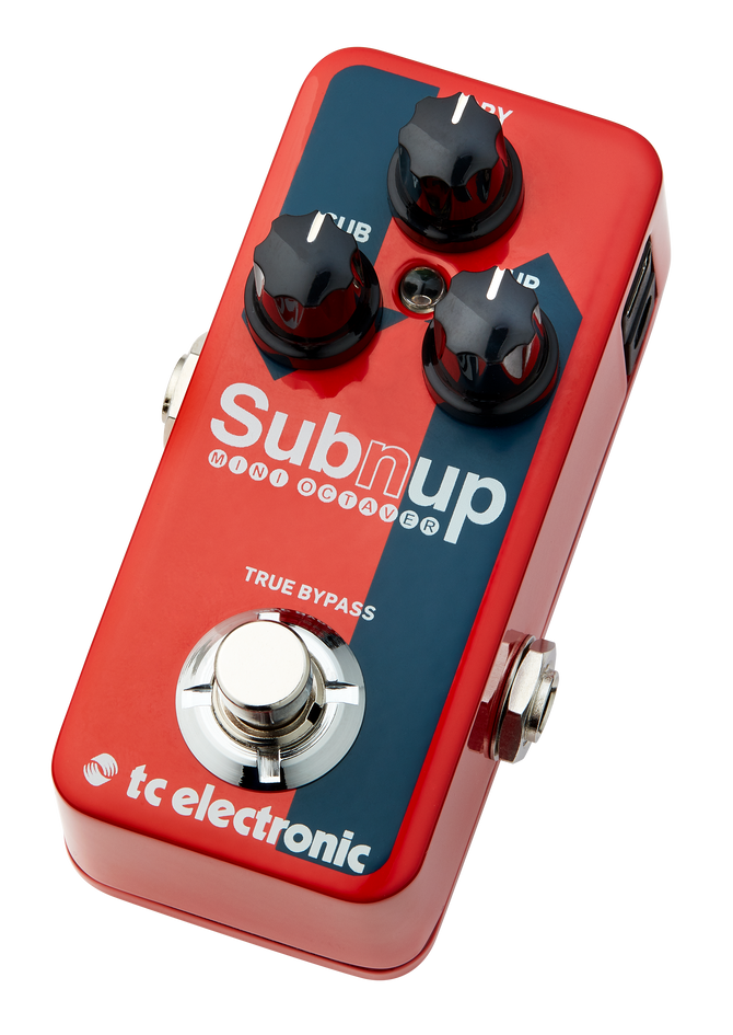 NEW: TC Electronic drops Sub 'n' Up Mini bomb