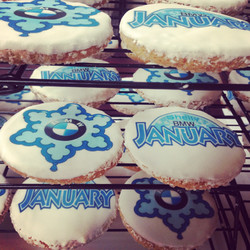 Shelly BMW Winter Theme Cookies!