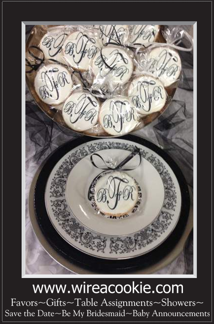 Personalized Cookies for any Affair!