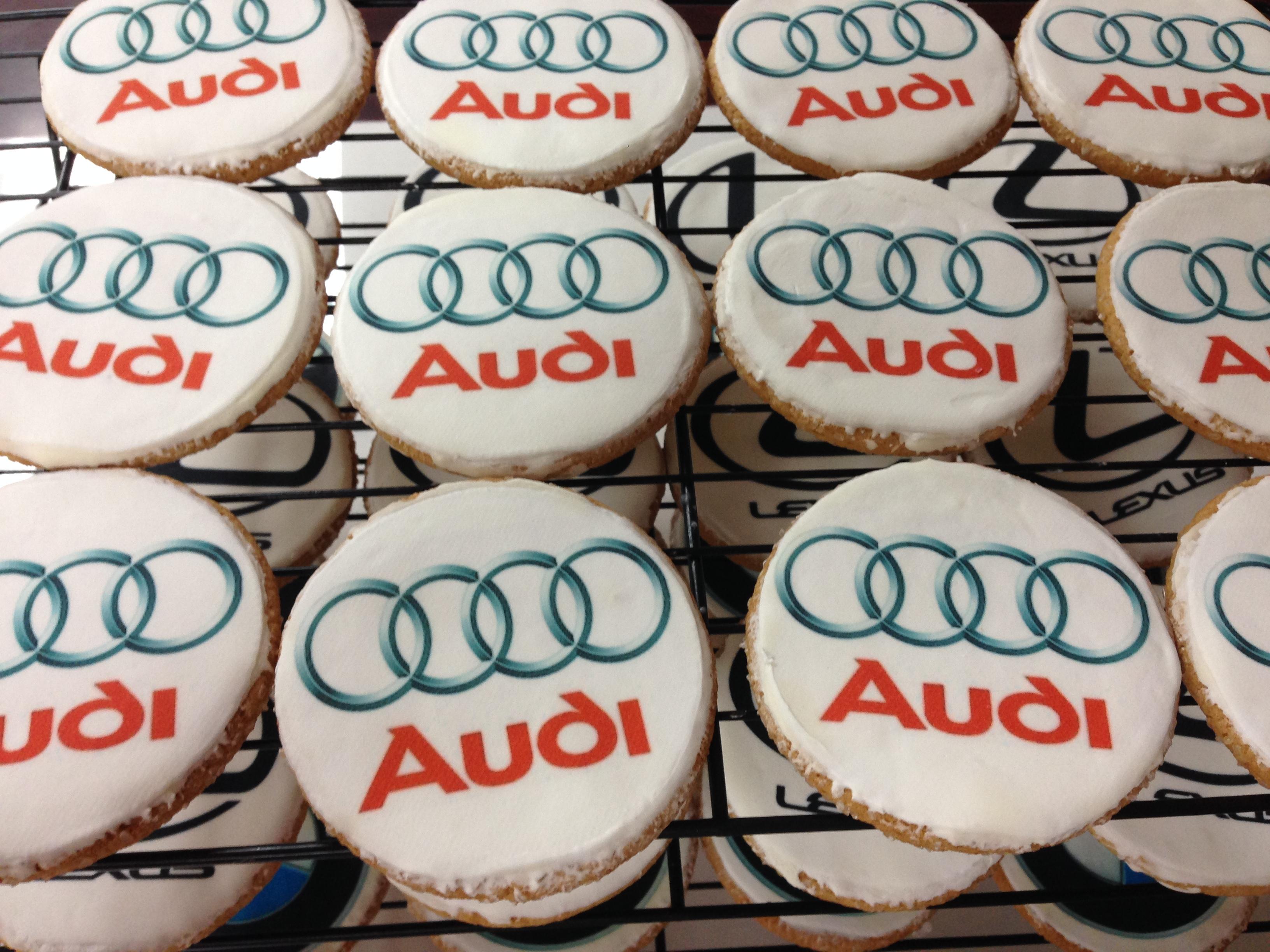 Audi Cookies!