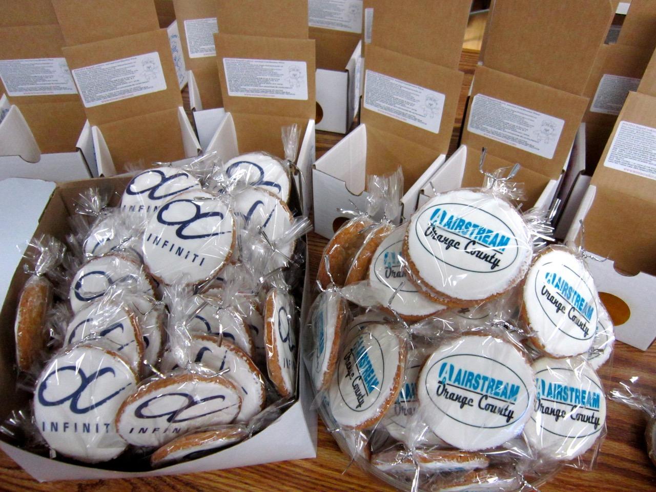 Infiniti & Airstream Cookies!