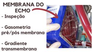 Avaliação da membrana da ECMO: o valor da inspeção, gasometrias e gradientes.