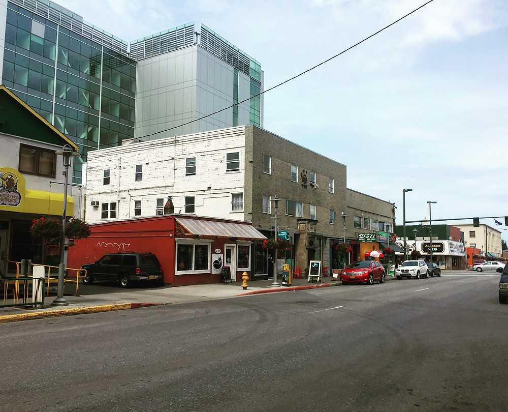 Successful micro culture in Downtown Anchorage