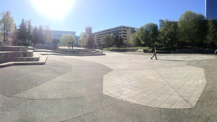 dreams do come true - Anchorage Town Square Park