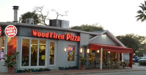 How did Wood Fired Pizza arrive at Cafe Heavenly