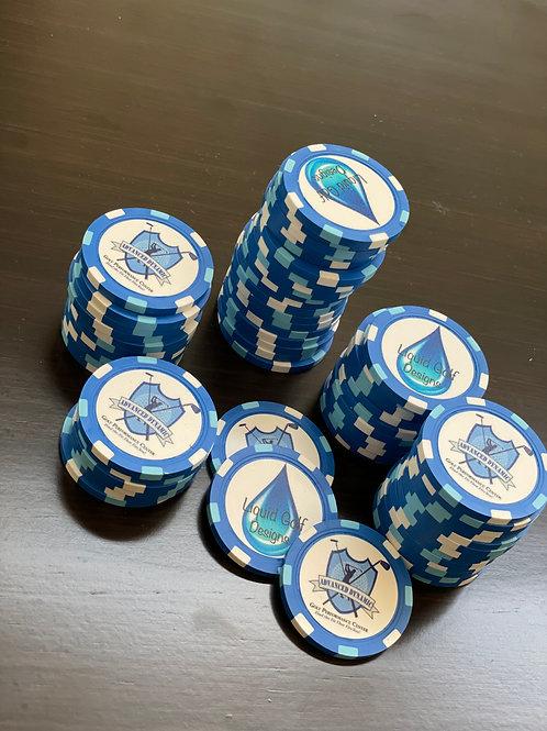 Poker Chip Ball Marker