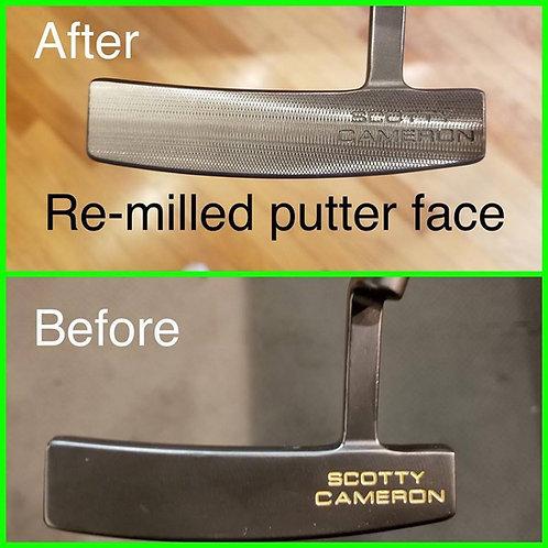 Re-Mill Putter Face