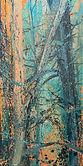 Herbstwald, 80x50 cm, Öl auf Leinwand, 2020