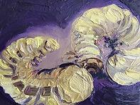 Tiere Engerlinge, 22x18cm, Öl Nessel, 1997