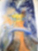 Goldenes Kalb, 24x32cm, Mischtechnik, 2008