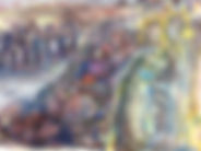 Paulusreise, 32x24cm, Aquarell Buntstift, 2006