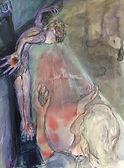 Stabat mater, 36 x48, Aquarell Papier, 2008