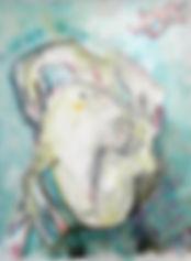 Seelenwesen never trust, 42x56cm, Mischt. Papier, 2012