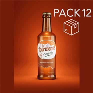 La Tourmente AMBRÉE - Pack de 12 Bières 33cl