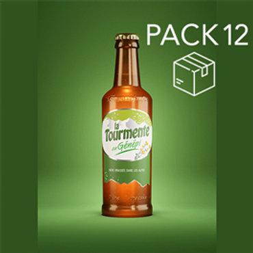 La Tourmente GENEPI - Pack de 12 Bières 33cl