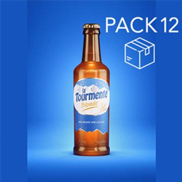 La Tourmente BLONDE - Pack de 12 Bières 33cl