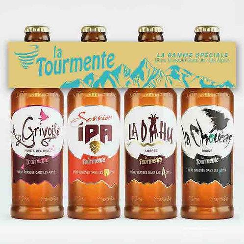 Quadrette Tourmente Spéciale - Pack de 4 Bières 33cl
