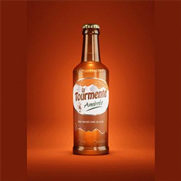 Tourmente Ambrée - Pack de 6 Bières 33cL