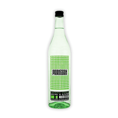 VODKA PARTISAN Green BIO VEGAN - 70cL