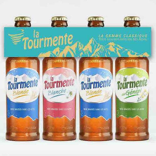 Quadrette Tourmente Classique - Pack de 4 Bières 33cl