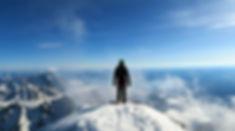 Summit of the Grand Teton, Winter.