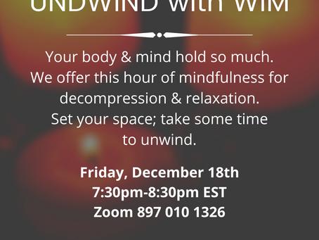 Unwind with WIM