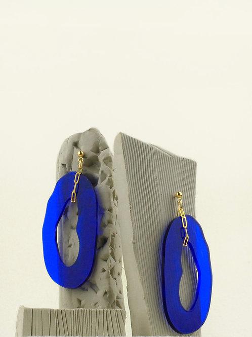 Boucles d'oreilles Roanna - Acrylique recyclé et gold filled