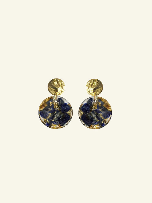 Boucles ANISSA - bleu