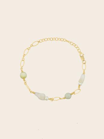 Bracelet fin pierre de lune