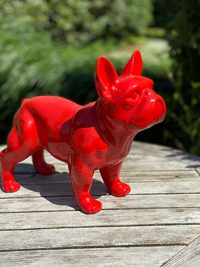Staande franse bulldog klein