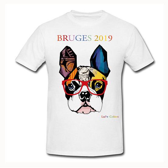 Franse Bulldog met bril