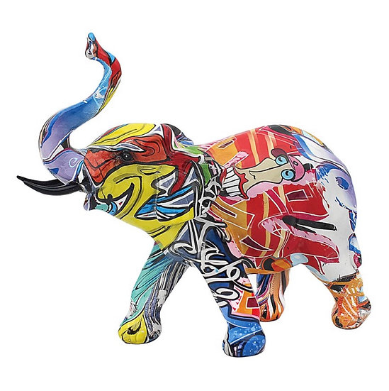 Graffiti olifant klein