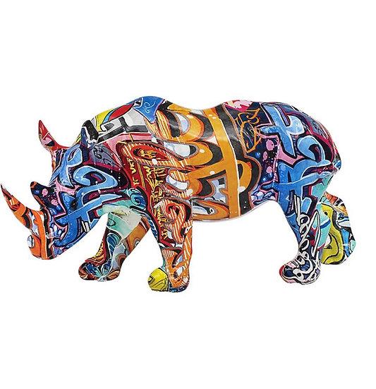 Graffiti rhino