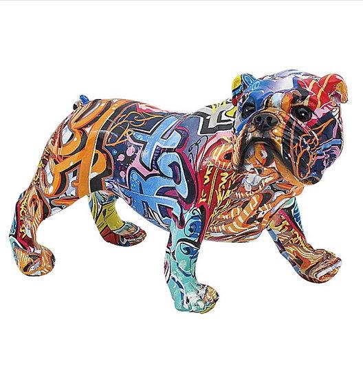 Grafitti english bulldog