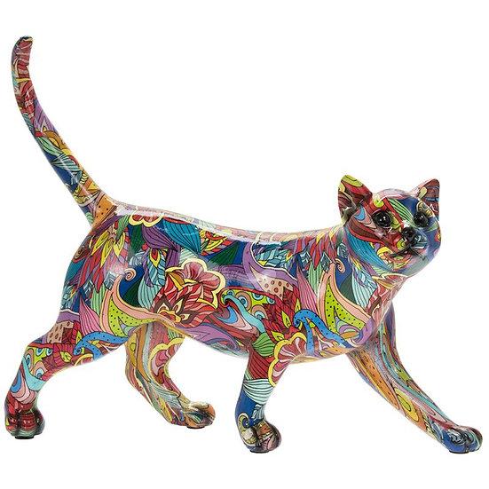 Wandelende kat Groovy