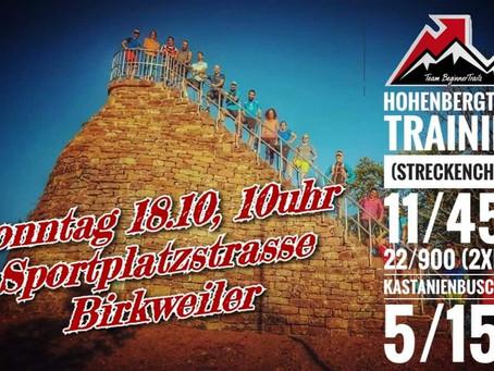 Sonntag 18.10., 10 Uhr Sportplatzstrasse, Birkweiler