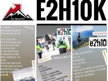 E2H10K - ein Wettkampf der in Erinnerung bleibt