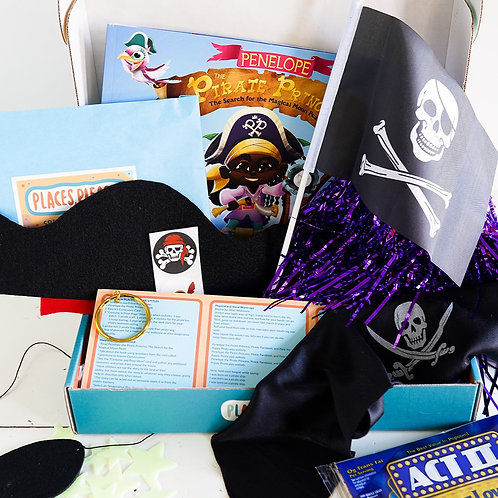 Penelope the Pirate Princess PLACES, PLEASE! Littles Imagination Box- ages 4-8
