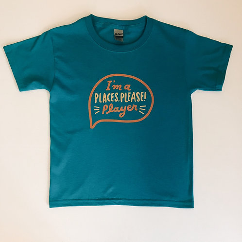 PLACES PLEASE! Player t-shirt in blue