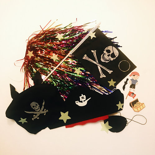 Penelope the Pirate Princess Costumes and Props Pack