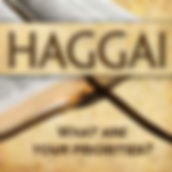 Haggai  banner what are your priorities